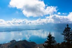 Lugu Lake view Royalty Free Stock Images