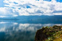 Lugu Lake view Royalty Free Stock Image