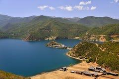 Lugu lake, the Women's Kingdom Stock Photography
