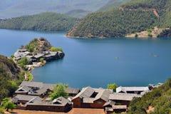 Lugu lake, the Women's Kingdom Stock Photos