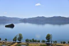 Lugu lake, the Women's Kingdom Royalty Free Stock Image