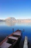 Lugu Lake in Yunnan Royalty Free Stock Image