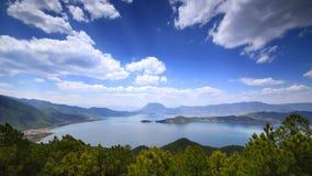 Lugu See, das Königreich der Frauen Lizenzfreie Stockfotos