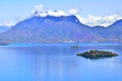 Lugu See, das Königreich der Frauen Stockfotografie
