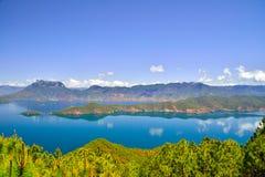 Lugu See, das Königreich der Frauen Lizenzfreies Stockfoto