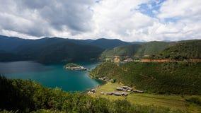 Lugu Seelandschaft Stockbild