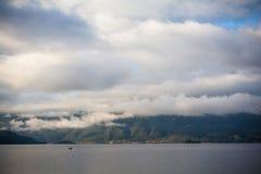 Lugu Seelandschaft Stockfoto