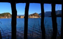 lugu yunnan озера стоковые изображения