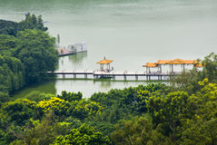 The Luhu Park in Guangzhou,south of China. Royalty Free Stock Images