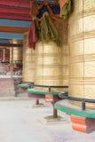 LUHUO, КИТАЙ - 18-ОЕ СЕНТЯБРЯ 2014: Колесо Mani на виске Shouling fam Стоковая Фотография RF