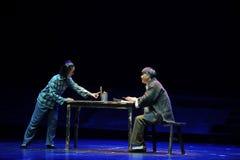 Lui a rapidement écrit l'opéra de Jiangxi une balance Image stock