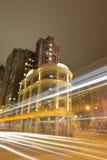Lui Seng Chun,老大厦在香港 免版税库存照片