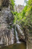 Lui Stan Gorge de Valea en Roumanie Photo stock