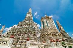 Lui tempio di Dawn Wat Arun a Immagine Stock Libera da Diritti