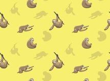 Luiaardbehang 2 stock illustratie