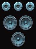 Luidsprekers Stock Afbeeldingen