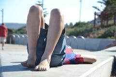 Luie de zomermiddag Royalty-vrije Stock Foto