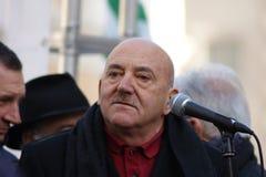 Luigi Angeletti, итальянский профсоюзный руководитель UIL Стоковая Фотография RF