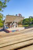 Luigi Borghesi appelé par amphithéâtre ou Anfiteatro font Zerao Photo stock