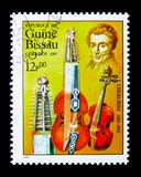 Luigi Cherubini, скрипка баритона и скрипка quinton, Internationa стоковая фотография rf