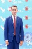Luigi Di Maio al Giffoni Ekranowy festiwal 2016 Zdjęcia Royalty Free