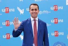 Luigi Di Maio al Giffoni Ekranowy festiwal 2016 Obraz Royalty Free
