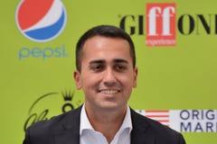 Luigi Di Maio at Giffoni Film Festival 2017 Royalty Free Stock Images