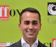 Luigi Di Maio at Giffoni Film Festival 2017. Giffoni Valle Piana, Sa, Italy - July 22, 2017 : Luigi Di Maio at Giffoni Film Festival 2017 - on July 22, 2017 in Stock Image
