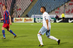Luigi Vitale. In Steaua Bucharest - SSC Napoli match. Europa League competition Stock Photo