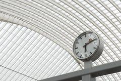 Luik-Guillemins现代火车站Liège-Guillemins 免版税库存照片