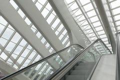 Luik-Guillemins σύγχρονος σιδηροδρομικός σταθμός liège-Guillemins Στοκ Εικόνες