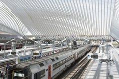 Luik-Guillemins Stock Afbeelding