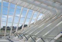 Luik-Guillemins Stock Foto