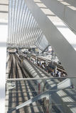 Luik-Guillemins Stock Afbeeldingen