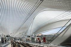 Luik-Guillemins Royalty-vrije Stock Afbeelding