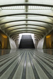 Luik-Guillemins modern railway station Liège-Guillemins Royalty Free Stock Image