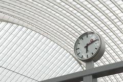 Luik-Guillemins modern railway station Liège-Guillemins Royalty Free Stock Photos