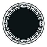 Luim gescrold paneel, de decoratie van het kaderontwerp royalty-vrije illustratie
