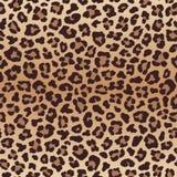Luipaard naadloos patroon, imitatie van luipaardhuid Stock Foto's