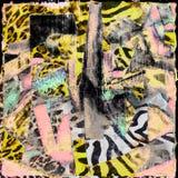 Luipaardachtergrond Stock Afbeeldingen