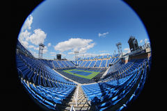 Luis Armstrong Stadium at the Billie Jean King National Tennis Center during US Open 2014 Royalty Free Stock Image