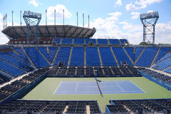 Luis Armstrong Stadium at the Billie Jean King National Tennis Center during US Open 2014 Royalty Free Stock Photography
