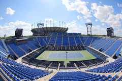 Luis Armstrong Stadium at the Billie Jean King National Tennis Center during US Open 2014 Stock Image