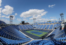 Luis Armstrong Stadium at the Billie Jean King National Tennis Center during US Open 2014 Stock Photo