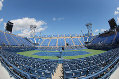 Luis Armstrong Stadium at the Billie Jean King National Tennis Center during US Open 2014 Stock Photos
