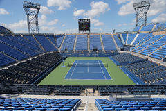 Luis Armstrong Stadium at the Billie Jean King National Tennis Center during US Open 2014 Royalty Free Stock Images