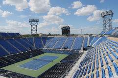 Luis Armstrong Stadium at the Billie Jean King National Tennis Center during US Open 2014 Stock Images