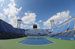 Luis Armstrong Stadium at the Billie Jean King National Tennis Center during US Open 2014 Royalty Free Stock Photos