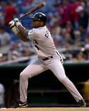 Luis Castillo. Florida Marlins 2B. (Image taken from color slide royalty free stock photography