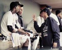 Luis Cendeno, Jorge Mateo and Isaias Tejeda, Charleston RiverDogs Stock Images